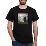 Seine / Scotties (b&w) Dark T-Shirt
