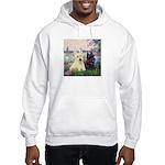 Seine / Scotties (b&w) Hooded Sweatshirt