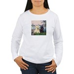 Seine / Scotties (b&w) Women's Long Sleeve T-Shirt