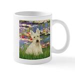 Lilies / Scottie (w) Mug