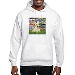 Lilies / Scottie (w) Hooded Sweatshirt
