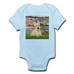 Lilies / Scottie (w) Infant Bodysuit