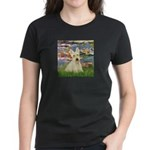 Lilies / Scottie (w) Women's Dark T-Shirt