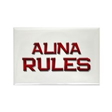 alina rules Rectangle Magnet