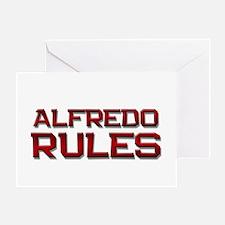 alfredo rules Greeting Card