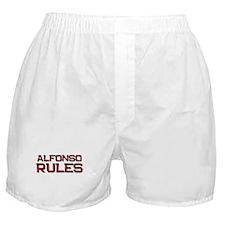 alfonso rules Boxer Shorts