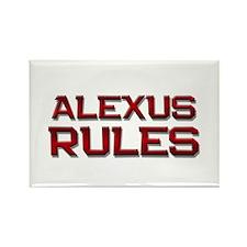 alexus rules Rectangle Magnet