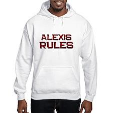alexis rules Hoodie Sweatshirt