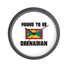 Proud To Be GRENADIAN Wall Clock