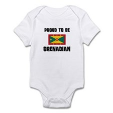 Proud To Be GRENADIAN Infant Bodysuit