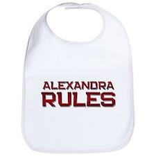 alexandra rules Bib