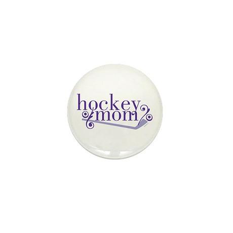 simple hockey mom Mini Button (10 pack)