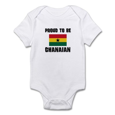 Proud To Be GHANAIAN Infant Bodysuit