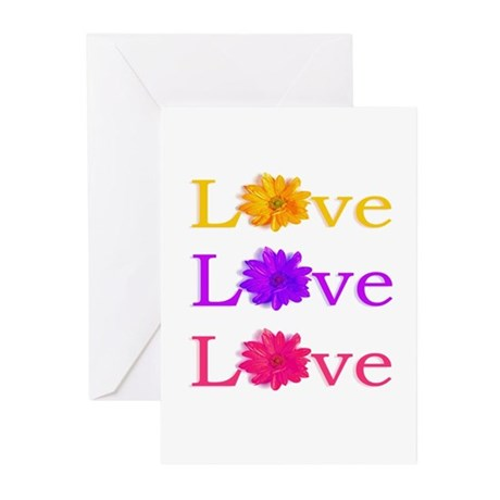 """""""Love"""" Greeting Cards (Pk of 10)"""