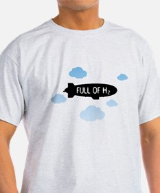Hydrogen Blimp & Clouds T-Shirt