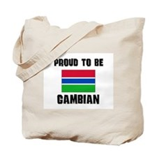 Proud To Be GAMBIAN Tote Bag