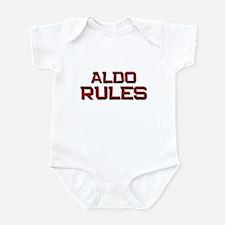aldo rules Infant Bodysuit