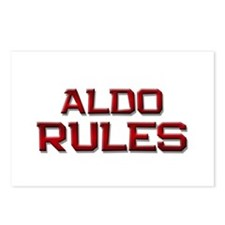 aldo rules Postcards (Package of 8)