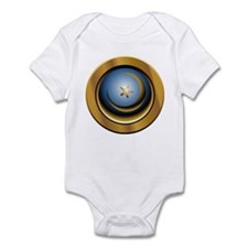 Abstract Moon & Star Infant Bodysuit