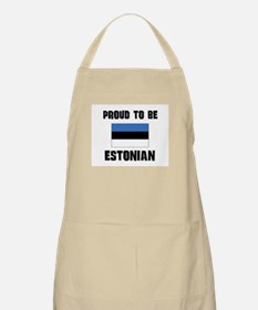 Proud To Be ESTONIAN BBQ Apron