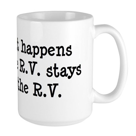 What happens in the R.V. stays in the R.V. Large M