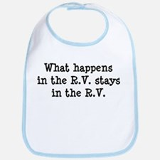 What happens in the R.V. stays in the R.V. Bib
