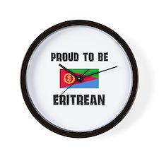 Proud To Be ERITREAN Wall Clock