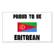 Proud To Be ERITREAN Rectangle Decal