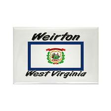 Weirton West Virginia Rectangle Magnet