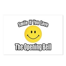 """""""Smile...Opening Bell"""" Postcards (Package of 8)"""