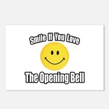 """Smile...Opening Bell"" Postcards (Package of 8)"