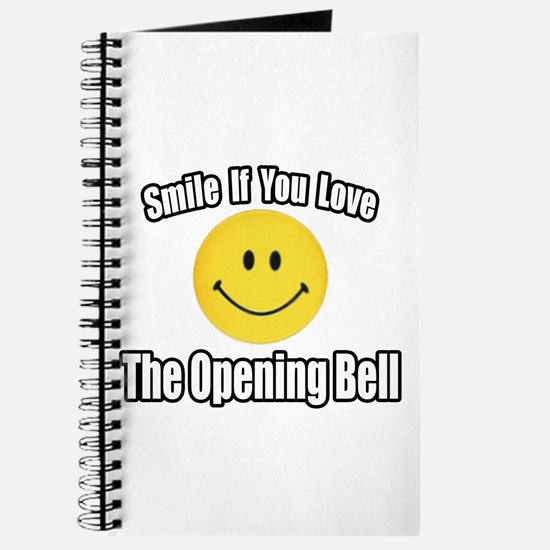 """Smile...Opening Bell"" Journal"