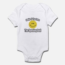 """Smile...Opening Bell"" Infant Bodysuit"