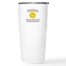 """""""Smile...Opening Bell"""" Travel Mug"""