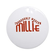 Ryle High School Millie Ornament (Round)