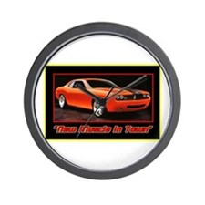 """""""New Muscle"""" Wall Clock"""