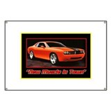 Dodge challenger Banners