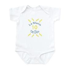 La Mano De Dios Infant Bodysuit