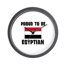 Proud To Be EGYPTIAN Wall Clock