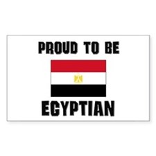 Proud To Be EGYPTIAN Rectangle Decal
