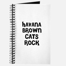 HAVANA BROWN CATS ROCK Journal