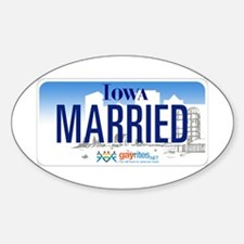 Iowa Marriage Equality Decal