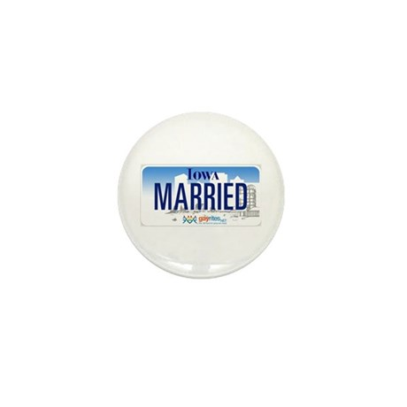 Iowa Marriage Equality Mini Button (10 pack)
