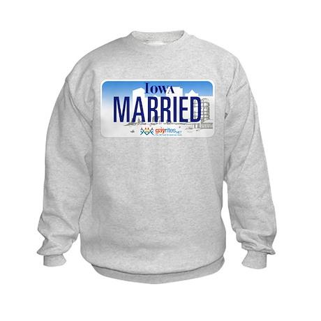 Iowa Marriage Equality Kids Sweatshirt