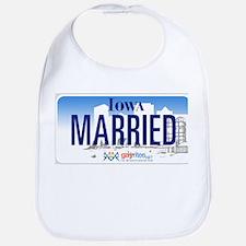 Iowa Marriage Equality Bib