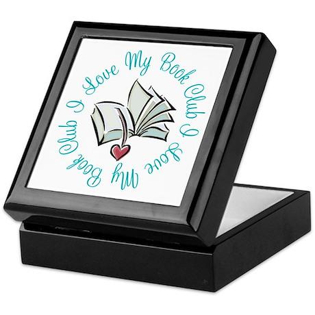 I Love My Book Club Keepsake Box