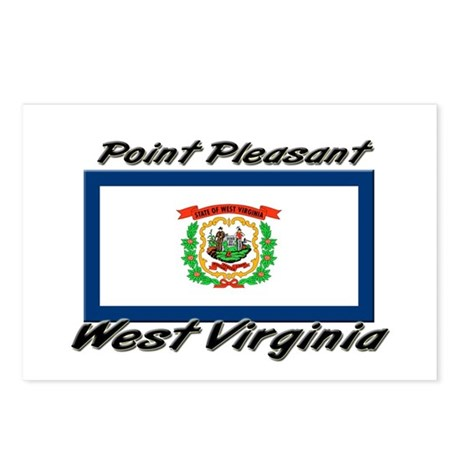 Point Pleasant West Virginia Postcards (Package of