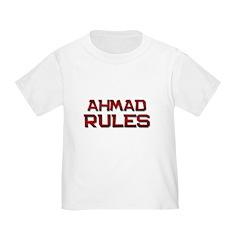 ahmad rules T