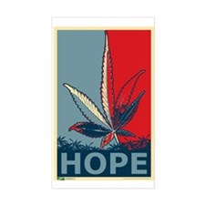 """""""Hope For Sense"""" Rectangle Decal"""
