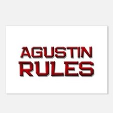 agustin rules Postcards (Package of 8)